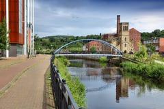 Rzeczny Don, Sheffield Fotografia Stock