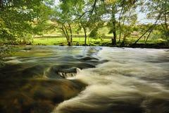 Rzeczny Duddon nawadnia, Cumbria Obraz Stock