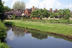 Rzeczny Eden, Kent, Anglia obrazy royalty free