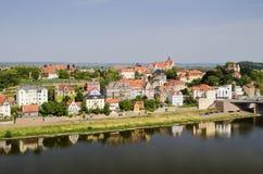 Rzeczny Elbe Zdjęcie Stock