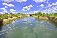 Rzeczny kanał brazylijski północny wschód obraz royalty free