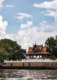 Rzeczny molo w Bangkok Obraz Royalty Free