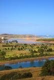 Rzeczny Pas usta, Cantabrian morze Obraz Stock