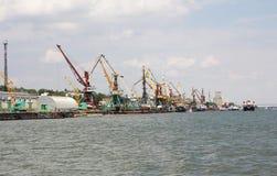 Rzeczny port Zdjęcia Royalty Free
