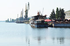 Rzeczny port Zdjęcie Royalty Free