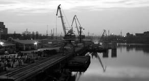 Rzeczny port Zdjęcie Stock