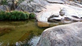Rzeczny spływanie w parku narodowym Madryt Zdjęcie Royalty Free