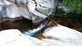Rzeczny spływanie w parku narodowym Madryt Obrazy Royalty Free