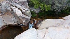 Rzeczny spływanie w parku narodowym Madryt Zdjęcia Royalty Free