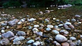 Rzeczny spływanie w parku narodowym Madryt fotografia royalty free