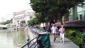 Rzeczny spacer w Singapur fotografia royalty free