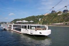 Rzeczny statek wycieczkowy VIKING VIDAR zdjęcie stock