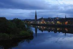 Rzeczny Tay Perth Szkocja Obrazy Stock