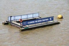 Rzeczny Thames cleaning Obrazy Royalty Free