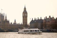 Rzeczny Thames London Zdjęcia Stock
