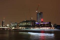 Rzeczny Thames, Londyn, UK Zdjęcie Royalty Free