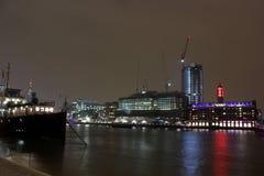 Rzeczny Thames, Londyn, UK Zdjęcia Royalty Free