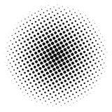 Rzeczy halftone okrąg na białym tle, projekta świeża ilustracyjna naturalna wektoru woda twój ilustracja wektor
