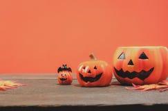 Rzeczy lub Szczęśliwy Halloweenowy festiwalu pojęcie Fotografia Royalty Free
