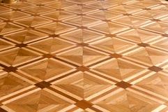 Rzeczy podłogowy parkietowy tło Obrazy Royalty Free