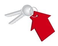 rzeczywistości domowa kluczowa czerwień Ilustracja Wektor