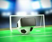 Rzeczywistość wirtualna i sporty Zdjęcie Royalty Free