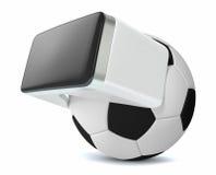 Rzeczywistość wirtualna i sporty Obraz Royalty Free