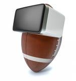 Rzeczywistość wirtualna i sporty Fotografia Stock