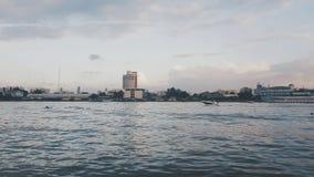 Rzeka & łódź Zdjęcia Royalty Free