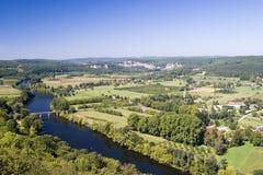 rzeka. zdjęcia stock