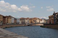rzeka arno Piza Fotografia Stock