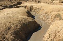 Rzeka błoto Fotografia Stock
