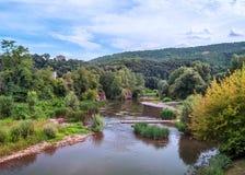 Rzeka Besalu Obraz Stock