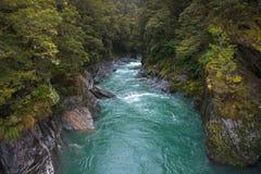 Rzeka bieg Fotografia Stock