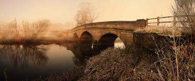 rzeka bridge Fotografia Royalty Free