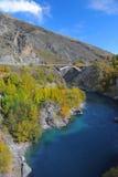 rzeka bridge Zdjęcia Stock