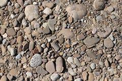 Rzeka brukuje kamień Obraz Royalty Free