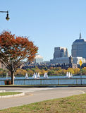rzeka Charles bostonu zdjęcie royalty free
