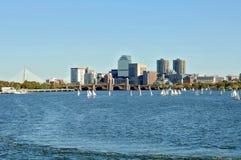 rzeka Charles bostonu zdjęcia stock
