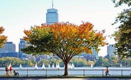 rzeka Charles bostonu Obrazy Royalty Free