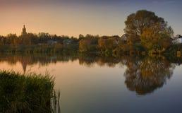 rzeka cicha obrazy stock