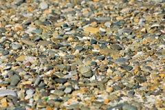 Rzeka dryluje teksturę Fotografia Royalty Free