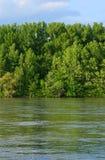 rzeka dunaj Obraz Royalty Free