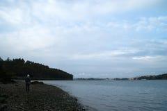 rzeka eo Zdjęcie Royalty Free