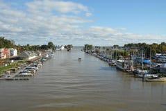rzeka genesee Zdjęcia Royalty Free