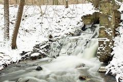 Rzeka i siklawa Zdjęcie Stock