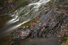 Rzeka I łupek, Ardennes, Belgia Obraz Stock