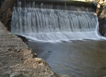 rzeka jesienią odrzutowiec Obraz Royalty Free