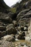rzeka jest wstępująca cour Fotografia Royalty Free