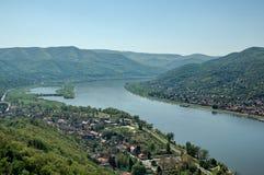rzeka krajobrazowa Obrazy Stock